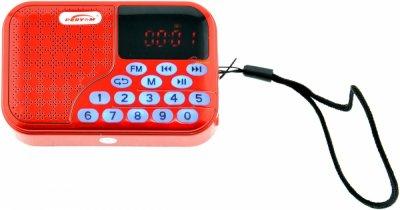 Радіоприймач Euroline PE-128 цифрове радіо з USB/SD плеерм