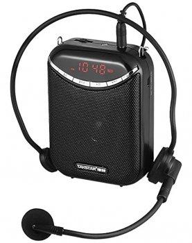 Поясний мегафон Takstar E190M для екскурсоводів з бездротовим мікрофоном гарнітура