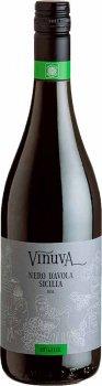 Вино Vinuva Nero D'Avola DOC Sicilia Organic красное сухое 0.75 л 13% (8003625003601)