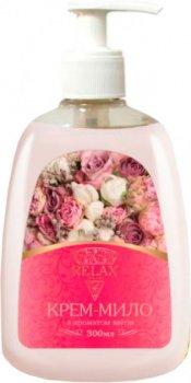 Жидкое крем-мыло Relax с ароматом цветов 300 мл