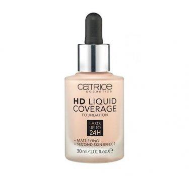 Тональный крем CATRICE HD Liquid Coverage Foundation 030 Sand Beige