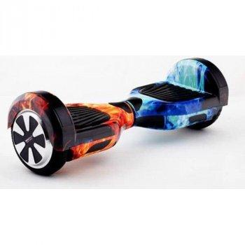 """Гироскутер Smart Balance Pro 6,5"""" огонь и лед с блютуз колонкой, сумка в комплекте."""