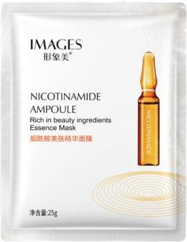 Омолаживающая маски для лица Images Nicotinamide Ampoule с ниацинамидом 25 г (6941349323655)
