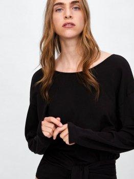 Блуза Zara 04873630822 Черная