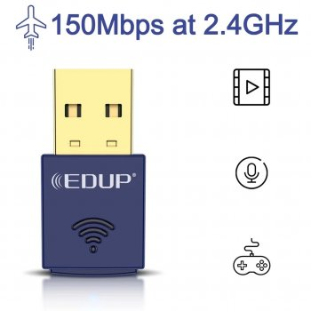 Гибридный WiFi + Bluetooth адаптер в одном корпусе EDUP EP-N8568