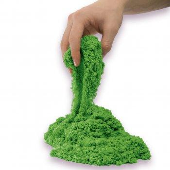 Песок для детского творчества Kinetic Sand Colour Зеленый 907 г (71453G)