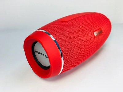 Мощная портативная акустическая стерео колонка (акустическая система) Hopestar H27 Bluetooth USB FM Красная
