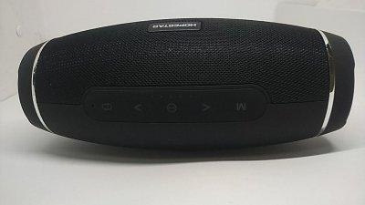 Потужна портативна акустична стерео колонка (акустична система) Hopestar H27 Bluetooth USB FM чорна