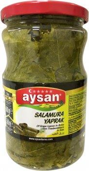 Виноградные листья Aysan в рассоле 680 г (8694205010906)
