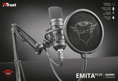 Мікрофон Trust GXT 252 Emita Plus Microphone (22400)