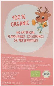 Чай фруктовый пакетированный органический Holle Rosy Reindeer для детей и взрослых 20 пакетиков (7640161877627)