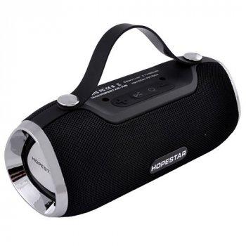 Портативна Bluetooth колонка Hopestar H40 з вологозахистом Black USB, FM (ft-145)