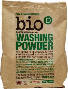 Концентрированный экологический стиральный порошок Bio-D Washing Powder 1 кг (5034938100018)