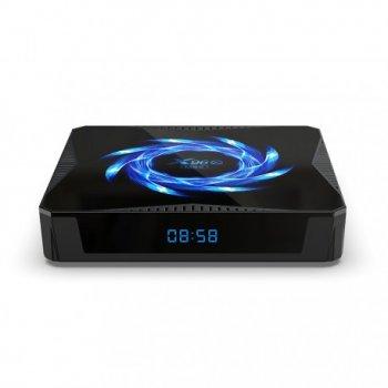 Смарт ТВ приставка Enybox X96Q MAX 4/64 GB + Аэро пульт G10S PRO с гироскопом и микрофоном + Настройка в подарок
