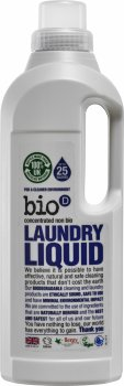 Концентрированное жидкое средство для стирки Bio-D Laundry Liquid fragrance free без аромата 1 л (5034938100056)