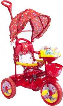 Велосипед трехколесный Малятко TC-R107A-2A Красный (0461-К)