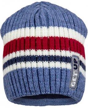 Зимняя шапка David's Star 1955 54 см Джинс (ROZ6400021832)