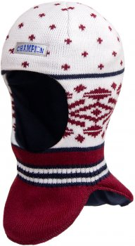 Зимняя шапка-шлем David's Star 17330 52 см Бордовая (ROZ6400021796)