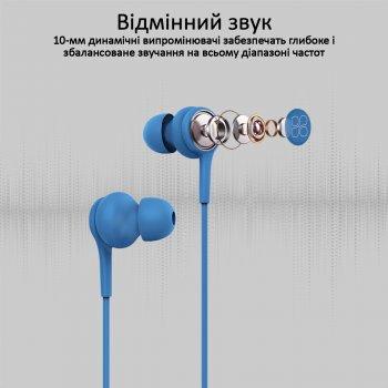 Навушники Promate Duet Blue (duet.Blue)