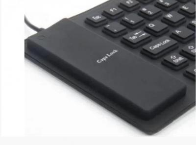Силіконова клавіатура HLV USB X3 Black 6966