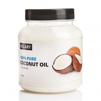 Кокосове масло рафінована Hillary Premium Quality Coconut Oil 500мл (SKU_131382)