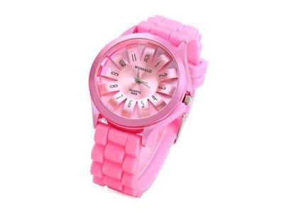 Женские наручные часы Womage, Розовый