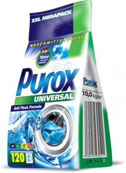 Порошок для стирки Purox Universal 10 кг (4260418930511)