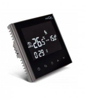 Терморегулятор Profitherm Wi-Fi Onyx Black для теплої підлоги