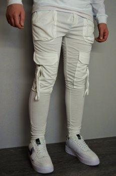 Мужские спортивные штаны hype drive white J-059