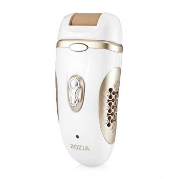 Эпилятор Rozia HB-6007 женский с 4 насадками + подарочная упаковка Белый (11641)
