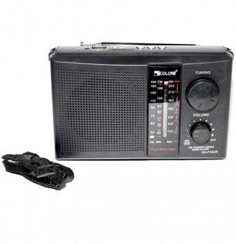 Радіоприймач GOLON RX-F18UR акумуляторний з вбудованим портом USB Чорний (11671)