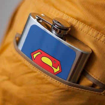 Фляга ZAPAS «Superman» (06765)