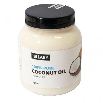 Кокосове масло рафінована Hillary 500 мл (16479)