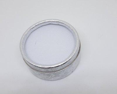 Коробочка для прикрас під кільце і сережки Сріблястий 10180 (2с)