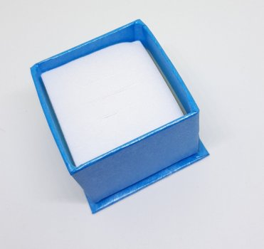 Коробочка для прикрас під кільце і сережки 10180 (7г)