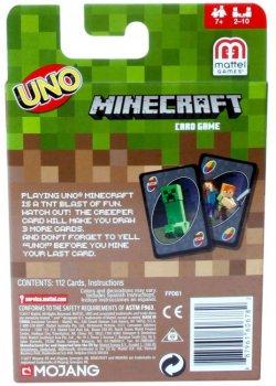 Настільна гра UNO Minecraft (FPD61)