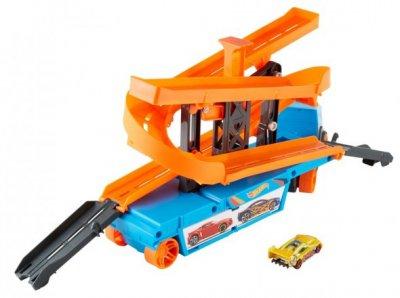 Грузовик-транспортер Hot Wheels Крутой спуск (GNM62)