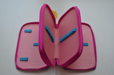 """Пенал CLASS """"Winx"""", 3 отделения, фиолетовый, без наполнения, 94087"""