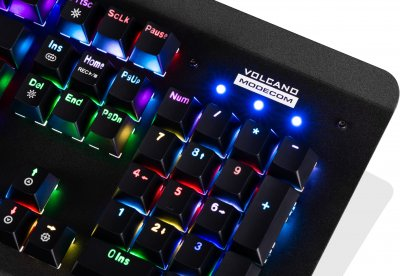 Клавиатура проводная Modecom Hammer 2 Removable Outemu Red RGB USB (K-MC-HAMMER2-U-RED-RGB-RU)