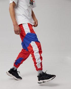 Спортивные штаны Пушка Огонь Split красно-синие