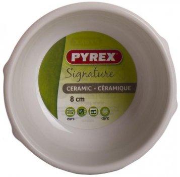 Керамічна посудина Pyrex Curves Ø8 см червона (UK-SG08BR8)