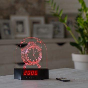 Нічник-годинник CooLit Alarm Big Clock