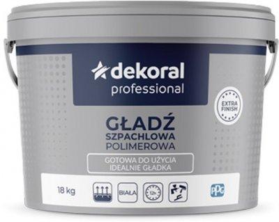 Шпаклівка Dekoral Gotowa Gładź Szpachlowa 18 кг (DP-315246)