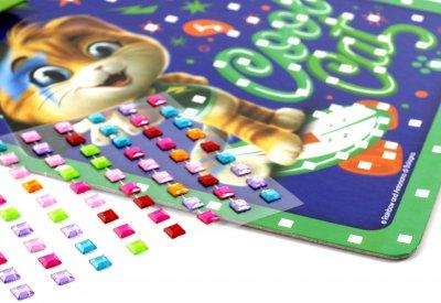 Набор для творчества Vladi Toys 44 Кота Магические кристаллы укр (VT4411-03)