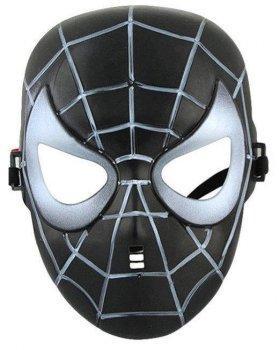Маска Веном ABC человек паук черный Симбиот