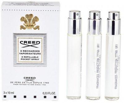 Рефил парфюмированная вода для мужчин Creed Aventus 3 шт х 10 мл (3508440310422)