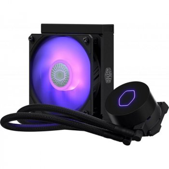 Кулер процесорний Cooler Master MasterLiquid ML120L V2 RGB LGA2066/2011-V3/1200/115x/AM4/AM3 (MLW-D12M-A18PC-R2)