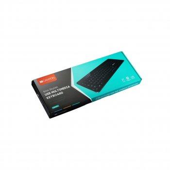Клавіатура Canyon CNS-HKB5RU Black USB