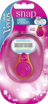 Станок для бритья женский (Бритва) Venus Snap Embrace с 1 сменным картриджем (7702018364510)