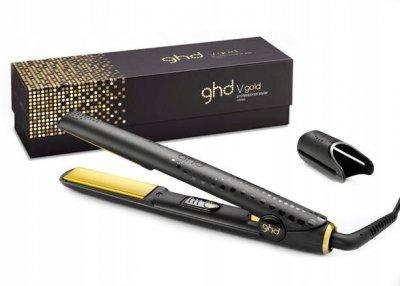 Прасочка для волосся GHD V Gold Professional Classic Styler + Прямокутна гребінець для волосся Ghd Paddle Brush